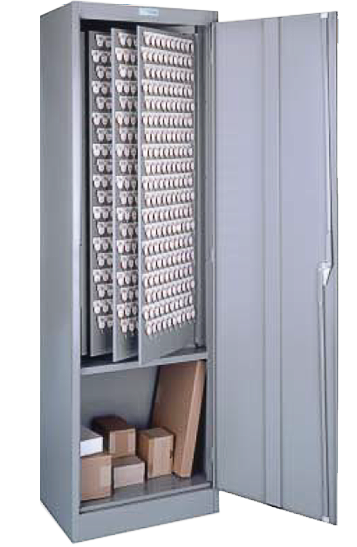 Floor Cabinet With Two Tag Key System
